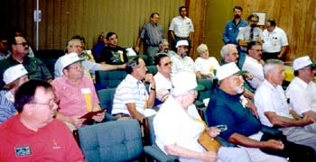 Members heard many lectures about ammunition production.