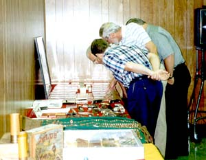 Many attendees brought collectible ammunition for display and for sale.