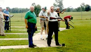 RSA members enjoy the day's shoot on the Trap, Skeey & Sporting Clays Range.