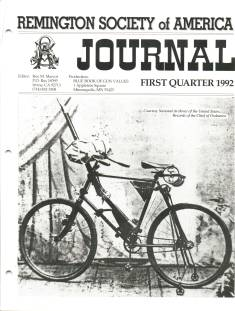 Photo of the First Quarter 1992 Issue of the RSA Journal