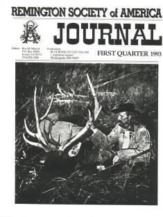 Photo of the first Quarter 1993 Issue of the RSA Journal