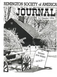 Photo of the First Quarter 1994 Issue of the RSA Journal