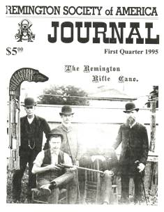 Photo of the First Quarter 1995 Issue of the RSA Journal
