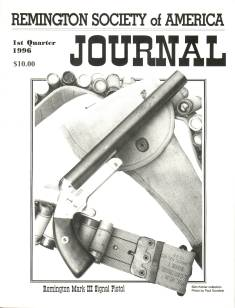 Photo of the First Quarter 1996 Issue of the RSA Journal