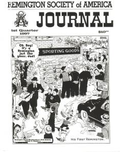 Photo of the first Quarter 1997 Issue of the RSA Journal