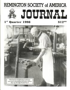Photo of the first Quarter 1998 Issue of the RSA Journal