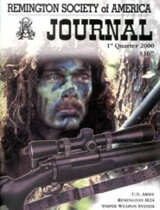 Photo of the First Quarter 2000 Issue of the RSA Journal