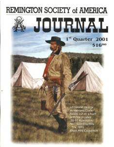 Photo of the First Quarter 2001 Issue of the RSA Journal