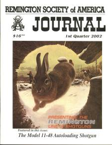 Photo of the First Quarter 2002 Issue of the RSA Journal