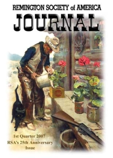 Photo of the First Quarter 2007 Issue of the RSA Journal