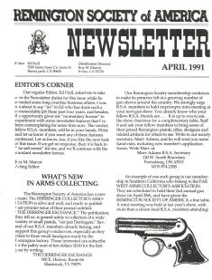 Photo of the second Quarter 1991 Issue of the RSA Journal