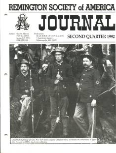 Photo of the Second Quarter 1992 Issue of the RSA Journal