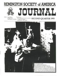 Photo of the second Quarter 1993 Issue of the RSA Journal
