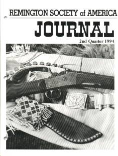 Photo of the Second Quarter 1994 Issue of the RSA Journal
