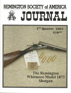 Photo of the Second Quarter 2001 Issue of the RSA Journal