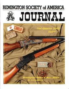 Photo of the Second Quarter 2002 Issue of the RSA Journal