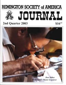 Photo of the Second Quarter 2003 Issue of the RSA Journal