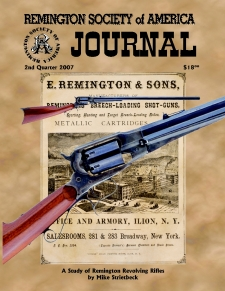 Photo of the Second Quarter 2007 Issue of the RSA Journal