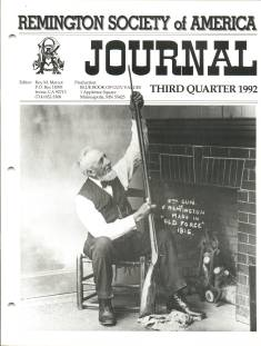 Photo of the Third Quarter 1992 Issue of the RSA Journal