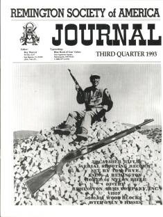 Photo of the Third Quarter 1993 Issue of the RSA Journal