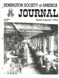 Photo of the Third Quarter 1994 Issue of the RSA Journal