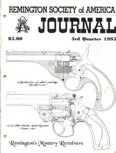 Photo of the Third Quarter 1995 Issue of the RSA Journal