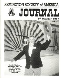 Photo of the Third Quarter 1997 Issue of the RSA Journal