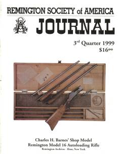 Photo of the Third Quarter 1999 Issue of the RSA Journal