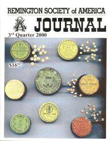 Photo of the Third Quarter 2000 Issue of the RSA Journal