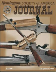 Photo of the Third Quarter 2003 Issue of the RSA Journal