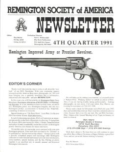 Photo of the Fourth Quarter 1991 Issue of the RSA Journal
