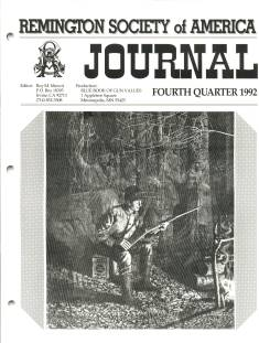 Photo of the Fourth Quarter 1992 Issue of the RSA Journal