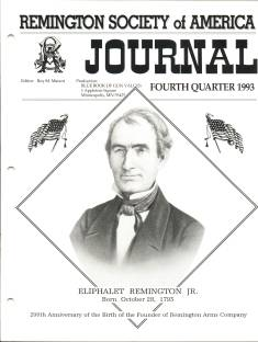 Photo of the Fourth Quarter 1993 Issue of the RSA Journal