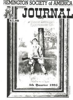 Photo of the Fourth Quarter 1995 Issue of the RSA Journal