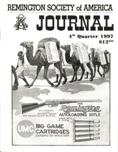 Photo of the Fourth Quarter 1997 Issue of the RSA Journal
