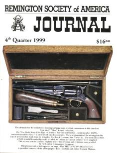 Photo of the Fourth Quarter 1999 Issue of the RSA Journal