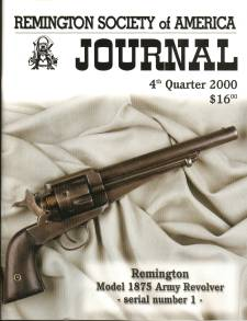 Photo of the Fourth Quarter 2000 Issue of the RSA Journal