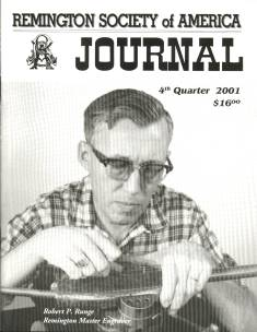 Photo of the Fourth Quarter 2001 Issue of the RSA Journal