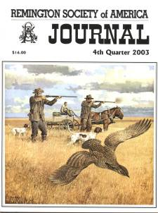 Photo of the Fourth Quarter 2003 Issue of the RSA Journal
