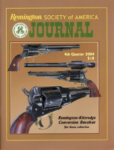 Photo of the Fourth Quarter 2004 Issue of the RSA Journal