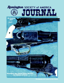Photo of the Fourth Quarter 2007 Issue of the RSA Journal